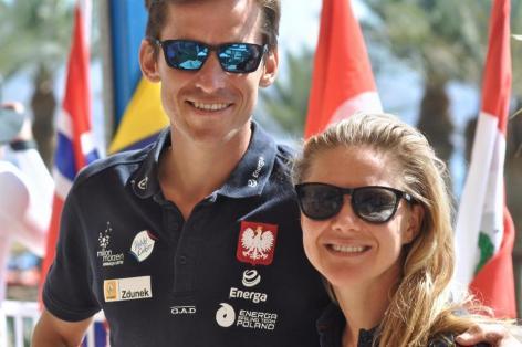 Piotr Myszka i Magorzata Biaecka 2016 polsailing fb