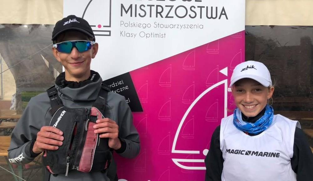 Paulina Rutkowska i Oskar Ponto