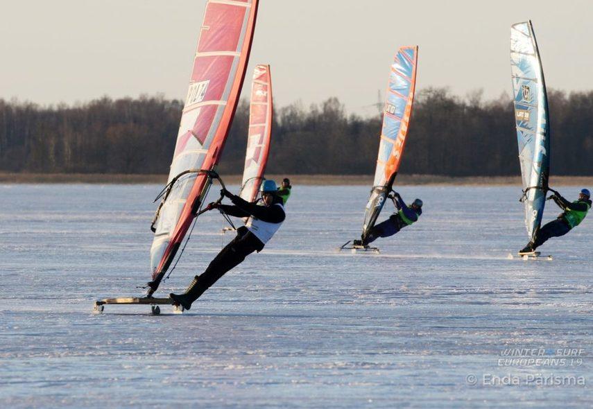 ME w windsurfingu lodowym 2019