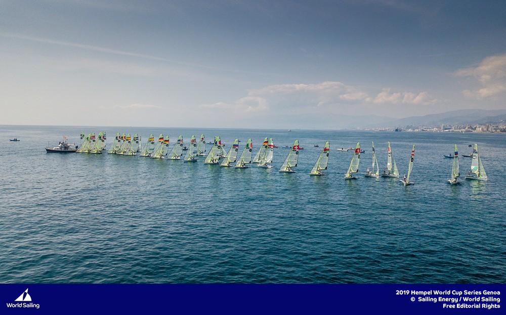 Puchar Świata klas olimpijskich w Genui