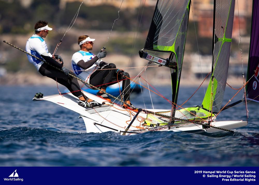 żeglarskiego Pucharu Świata klas olimpijskich w Genui