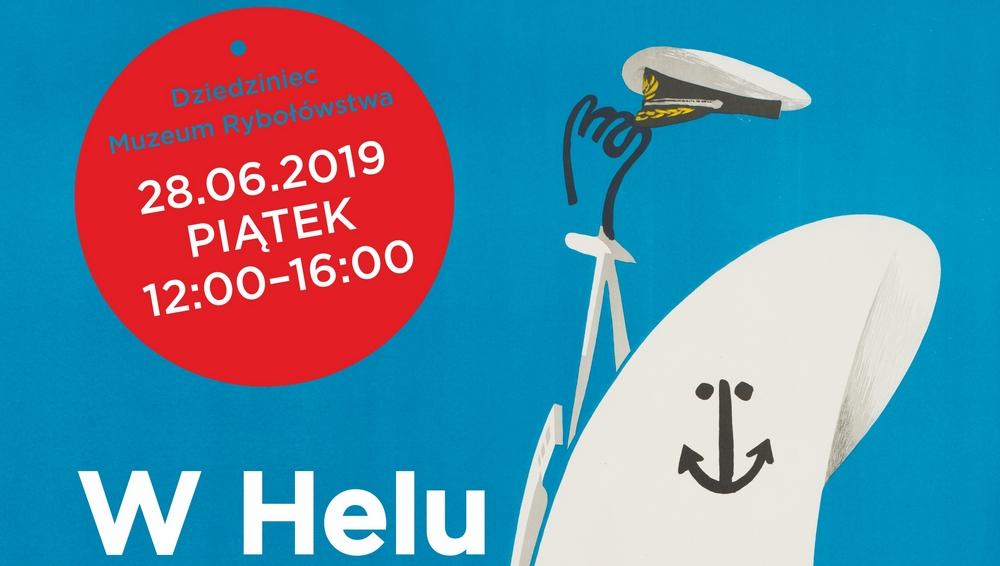 Statek z plakatu w Helu