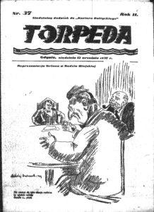 """Numer """"Torppedy z 12 września 1937 roku (reprodukcja z mikrofilmu)."""
