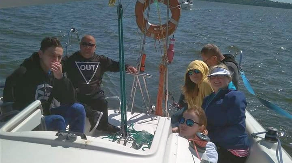 Niepełnosprawni sprawni żeglarze