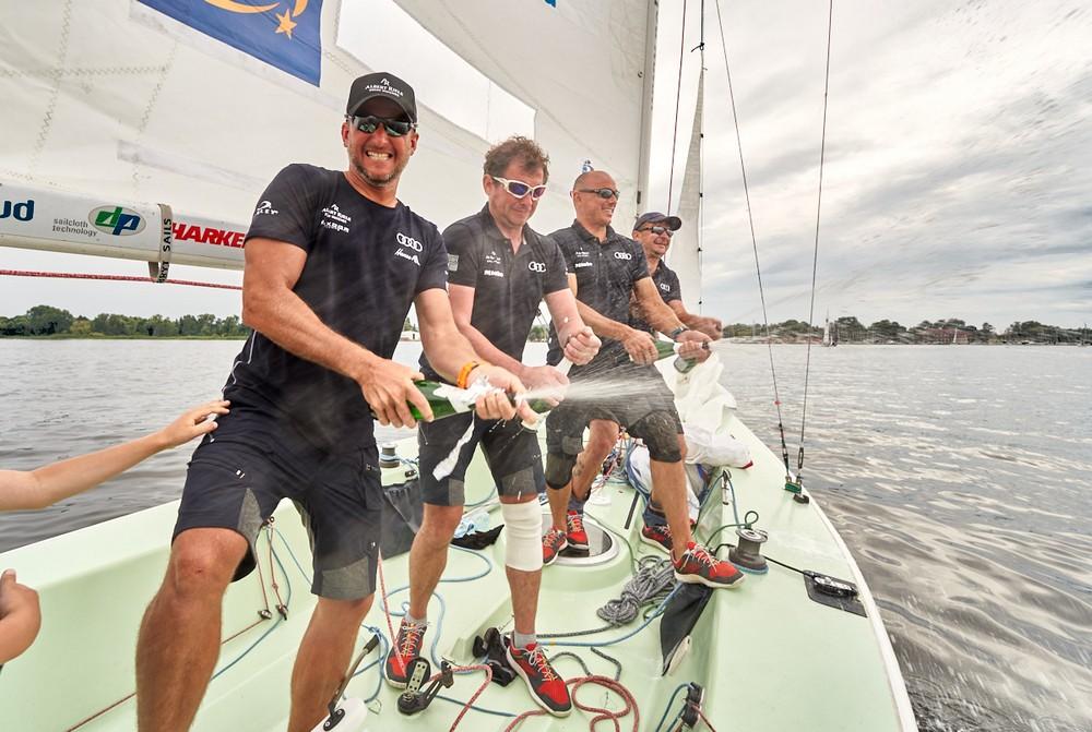 Zwycięzca międzynarodowych regat meczowych 2020 rozegranych w Szczecinie- Albert Riele Sailing Team.