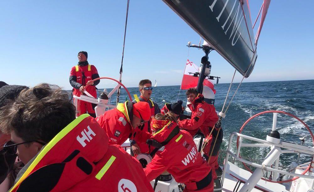 pierwszy wyścig przybrzeżny The Ocean Race Europe Prologue.