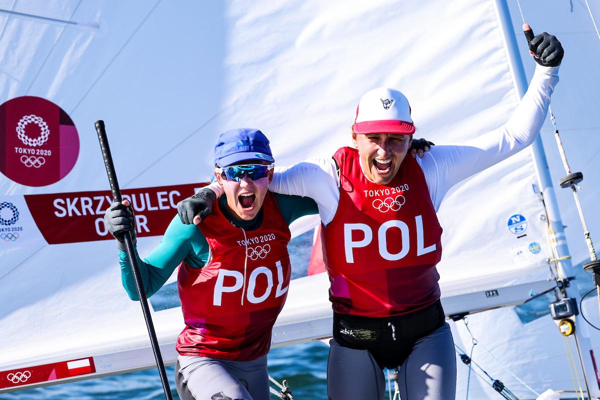 Agnieszka Skrzypulec i Jolanta Ogar